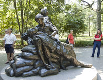 Vietnam Women's Memorial Stock Photography