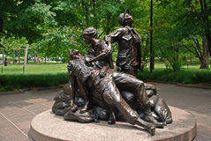Vietnam Womens Memorial Royalty Free Stock Photo