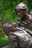 Vietnam Womens Memorial stock image