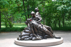 Vietnam Womens Memorial stock photography