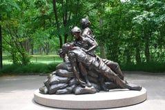 Vietnam Womens Memorial Stock Photography