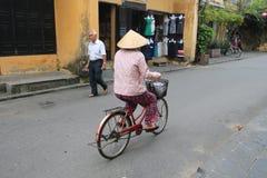 Vietname Hoi взгляд улицы Стоковое Фото
