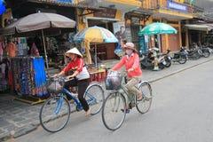 Vietname Hoi взгляд улицы Стоковые Изображения