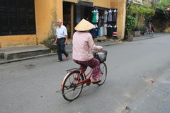 Vietname Hoi An street view Stock Photo