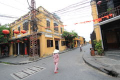 Vietname Hoi An street view Royalty Free Stock Images