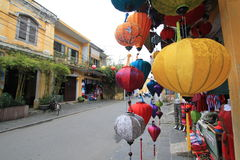 Vietname Hoi An street view Stock Image