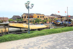 Vietname Hoi An street view Stock Photos