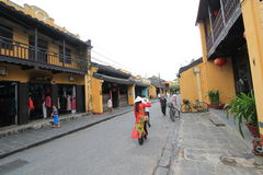 Vietname Hoi An street view Royalty Free Stock Photos