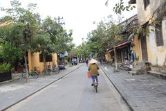 Vietname Hoi An street view Royalty Free Stock Image