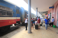 Vietname Hue Railway Station Stock Photo