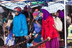 Vietname, mercado de Bac Ha Sunday Fotos de Stock