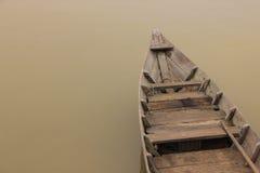 Vietname, rio de Hoi-An Barco tradicional Fotos de Stock