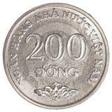 200 Vietnamees dongmuntstuk Royalty-vrije Stock Afbeelding