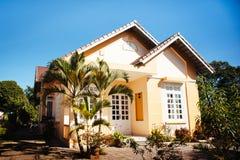 0021-Vietnamees huis Stock Afbeeldingen