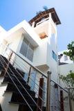 Vietnamees-stijlhuizen Stock Foto's