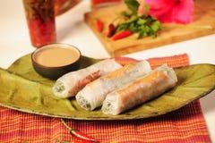 Vietnamees voedsel Royalty-vrije Stock Afbeeldingen