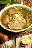 Vietnames food pho stock images