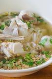 Vietnames noodle soup Stock Image