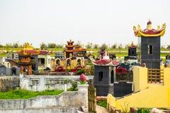 Vietnamesbegraafplaats Vietnam stock afbeeldingen