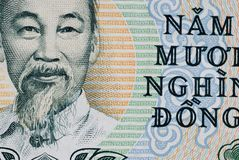 Vietnamese 50000 Dong Royalty Free Stock Photo
