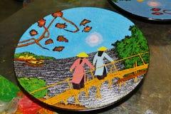 Vietnamese artwork Stock Photos