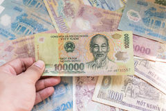 Vietnamese banknote Stock Photography