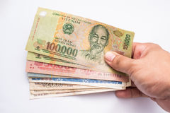 Vietnamese banknote Stock Photo