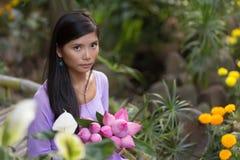 Vietnamese beauty Royalty Free Stock Image
