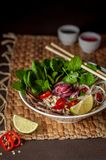 Vietnamese Beef Noodle Soup Pho Bo Royalty Free Stock Image