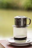 Vietnamese bevroren koffie Stock Foto