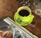 Vietnamese black coffee Royalty Free Stock Image