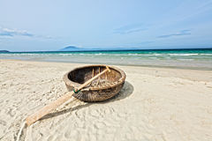 Vietnamese boat Royalty Free Stock Images