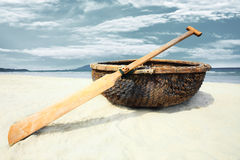 Vietnamese boat Stock Image