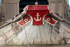 Vietnamese boat bow Royalty Free Stock Photo