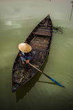 Vietnamese boats in Hoi An Stock Images