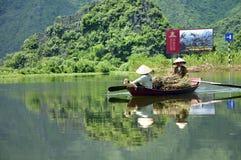 Vietnamese Boatwomen Royalty Free Stock Photo