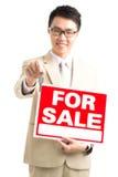Vietnamese broker Stock Image