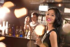 Vietnamese brunette Royalty Free Stock Image