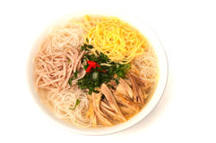 Vietnamese bun thang soup Stock Photo