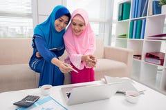 Vietnamese Business ladies Stock Photo
