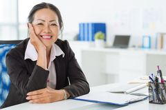 Vietnamese business lady Stock Photos