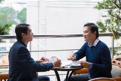 Vietnamese business partners Stock Photos