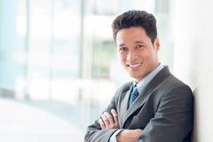 Vietnamese businessman Stock Photos