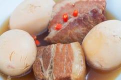 Vietnamese caramelised pork belly Royalty Free Stock Image