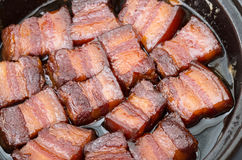 Vietnamese Caramelized Pork Belly Royalty Free Stock Images