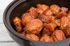 Vietnamese caramelized pork belly Stock Image