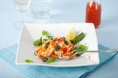 Vietnamese carrot salad Stock Image