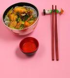 Vietnamese chicken noodle soup Stock Photo