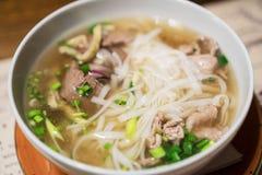 Vietnamese classic noodle soup. Stock Image