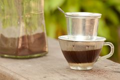 Vietnamese coffee Stock Images